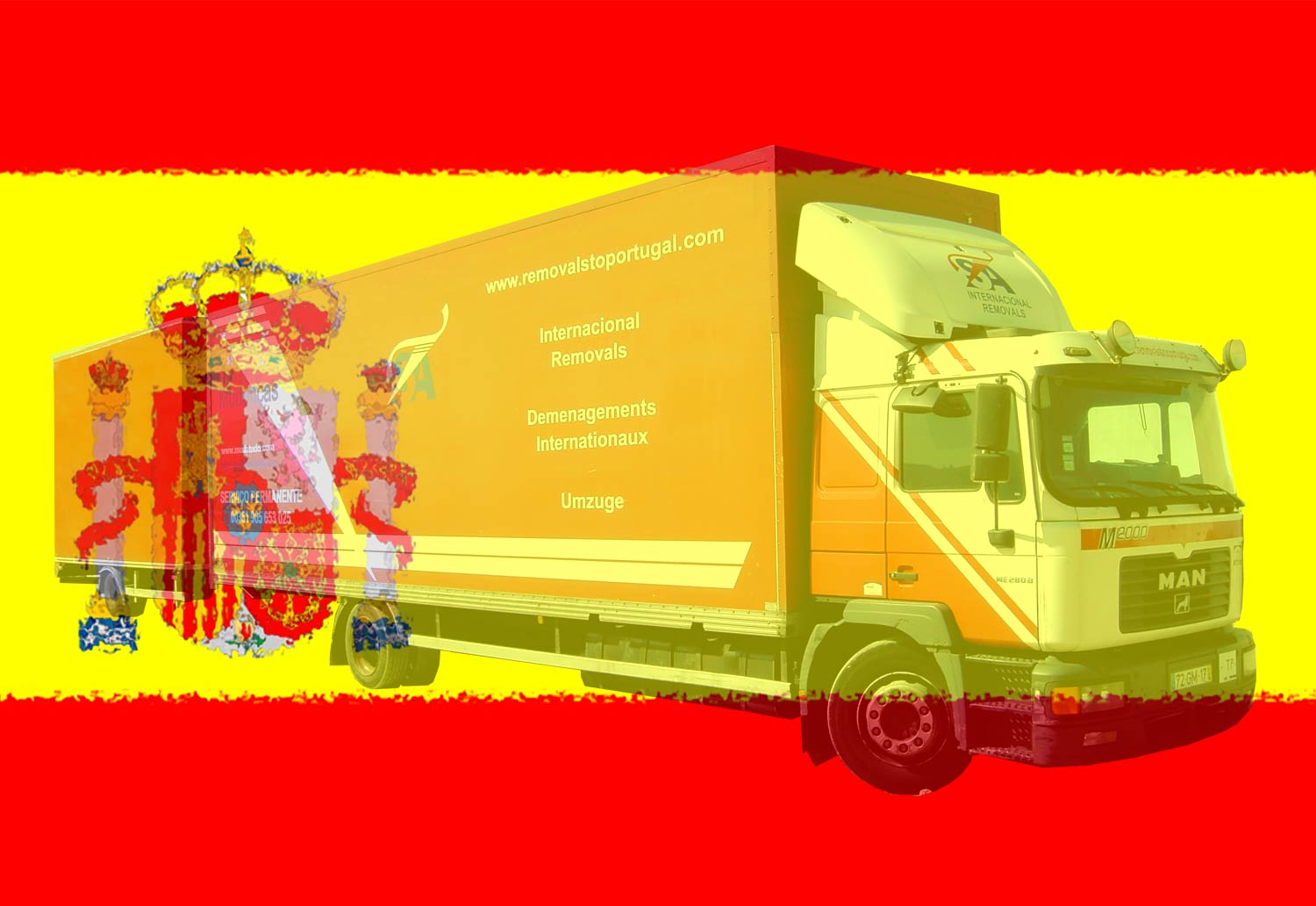 Removals to Spain, Spain Movers, Madrid, Barcelona, España